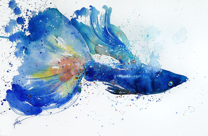 Amazing Watercolor Paintings By Tilien Ti Good Food